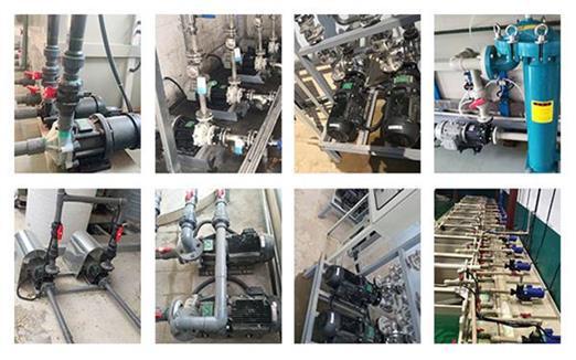 次氯酸钠输送泵安装小技巧